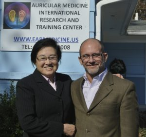 Dr. Li-Chun Huang with Jeffrey Russell 2012