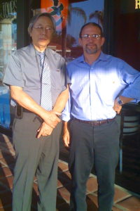 Dr. Jimmy Chang with Jeffrey Russell 2010 L.A.