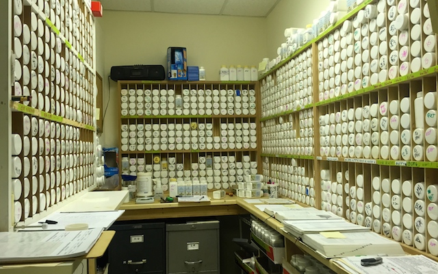 Louisville acupuncture herb room