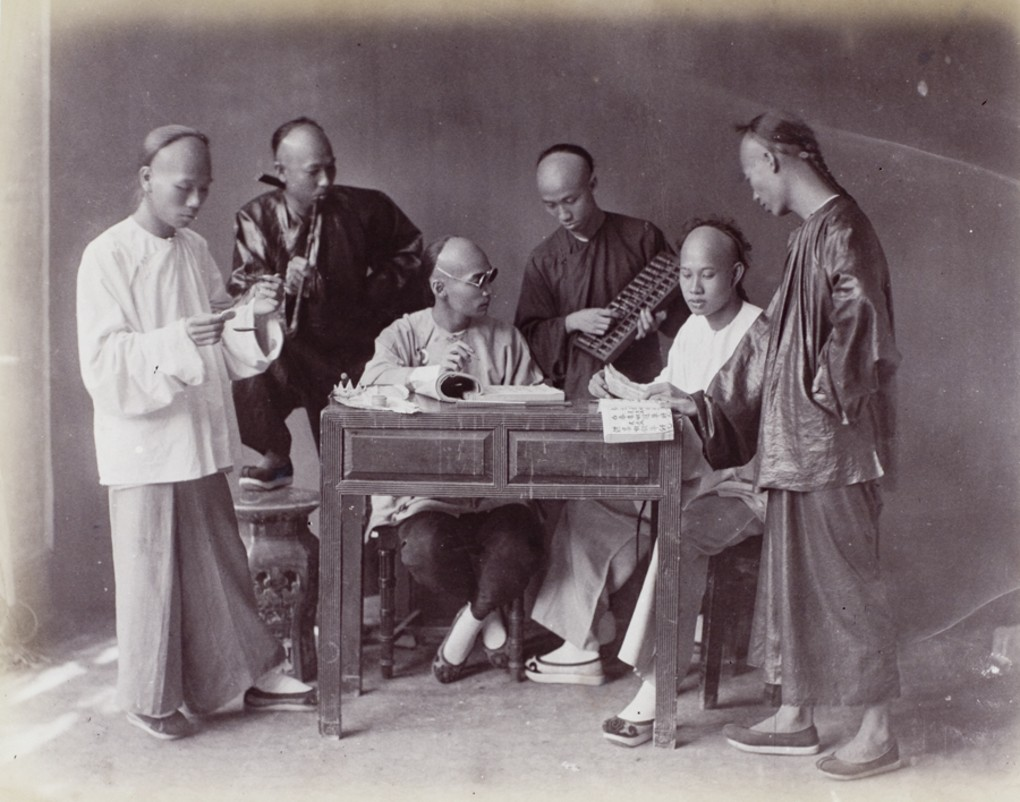 Accountants_or_businessmen_by_Lai_Afong_c1890s